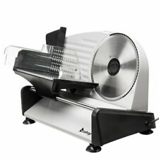 150W Meat Slicer Electric Food Slicer with 7.5� Removable Stainless Steel Blade