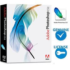 Adobe Photoshop CS2-versión Completa Original Licencia de por vida para Windows/Mac
