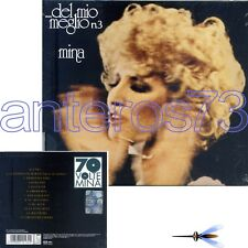 """MINA """"DEL MIO MEGLIO 3"""" CD EDIZIONE SLIDEPACK 70 VOLTE MINA - SIGILLATO"""