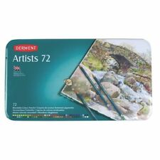Derwent Artists Pencils Tin of 72 With Bonus Adult Therapy Colouring Book 3