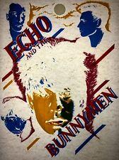 Echo And The Bunnymen 80s Memorabilia Vintage retro tshirt transfer print,NOS