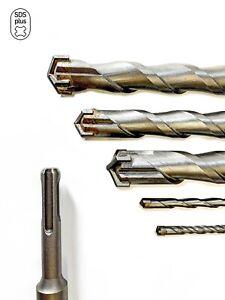 SDS Plus Bohrer Betonbohrer Steinbohrer Hammerbohrer mit Kreuzschneide Ø 5-30mm
