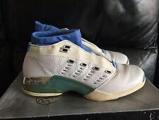 Nike Air Jordan XVII Low North Carolina Blue sz 9.5 rare OG