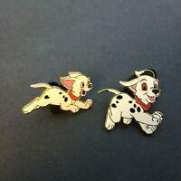 WDW Cast Lanyard Series - 101 Dalmatians Puppy - 2 Pins Disney Pin 11261