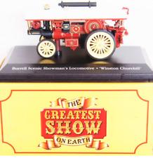 "DIE CAST MODEL CIRCO "" Burrell Scenic Showman's Locomotive ""  1/76 ATLAS  (102)"