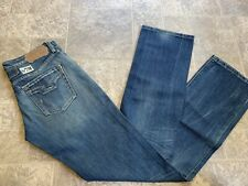 NEW Womens Replay Designer Jeans Nippy Blue 28x34 WV565.D34 Made In Italy Zipfly
