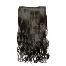 Wavy/Curly/Straight Clip In Hair Extension Full Head One Piece Clips Hairpieces