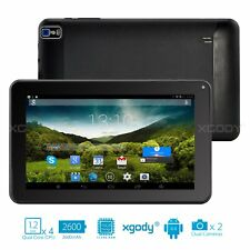 ANDROID TABLET PC 9 ZOLL TOUCHSCREEN QUAD CORE 16GB 2KAMERA BLUETOOTH WLAN XGODY