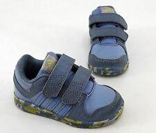 Adidas Ortholite Sneaker Halbschuhe Klettverschluss Indoor blau Gr. 5 = 21