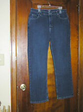 LEE RIDERS POLY/COTTON STRETCH JEANS SZ 18 0315