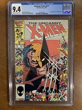X-MEN #211 - CGC 9.4 - 1ST FULL APPEARANCE OF THE MARAUDERS - UNCANNY XMEN