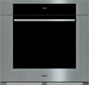 """WOLF M-Series Transitional SO30TM/S/TH 30"""" Inch Stainless Built-In Single Oven"""