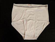 Vintage Men's Underwear - Hanes Signature Collection Size 38 White Briefs