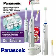New Panasonic DentaCare Family Pack Twin Set Electric Sonic Toothbrush EW1031CM