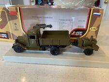 GAZ-AA Green Military VAN LOMO-AVM 1:43 RUSSIA USSR Army Green Truck lorry Wagon