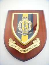 RAMC Royal Army Medical Corps Military Shield Wall Plaque