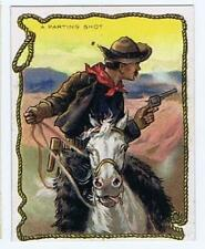 Hassan Cigarettes Cowboy Series T53 Western A Parting Shot high grade 320