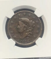 1826 Large Cent - Coronet Head - NGC VF25