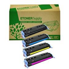 2600n LaserJet Toner for HP Q6000A Q6001A Q6002A Q6003 Cartridge 4 Color Bundle