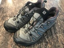 Salomon Men's X Ultra 2 GTX Hiking Shoe, Detroit/Autobahn/Methyl Blue, 11.5 D US