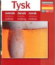 Bilder Wörterbuch visuell Tysk Svensk Dansk Norsk Ordbok schwedisch,dänisch,norw