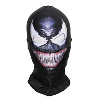 Spiderman Face Amazing Scary Mask Balaclava Hood Cosplay Venom Halloween Props