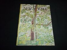 1968 MAY 25 NEW YORKER MAGAZINE - BEAUTIFUL FRONT COVER FOR FRAMING - C 705