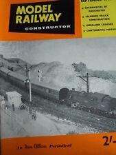 Model Railway Constructor 9 1962