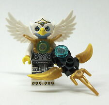 LEGO Legends of Chima - Eris (Silber Outfit) - Figur Minifig Adler Eagle 70133