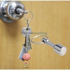 2Pcs Keyring Holder Test Magnet For Silver Gold Scrap Metal Antiques Key Chain#