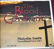 """Malcolm Smith """"The Blood Covenant"""" cds 10hrs"""