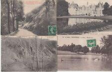 SARTHE  (DEP.72) 1000 Cartes Postales 1900-1940