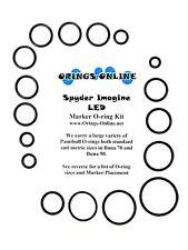 Spyder Imagine LED Paintball Marker O-ring Oring Kit x 4 rebuilds / kits