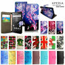 For Sony Xperia 10 X XA XA1 L1 L2 L3  XA2 XZ XZ2 e3 e4 Leather Wallet Phone Case
