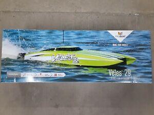 """Pro Boat PRB08029V2 Veles 29"""" RTR Brushless Catamaran w/2.4GHz Radio System New!"""