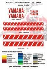 Kit adesivi Strisce grafiche yamaha vintage logo xt tt tenerè tenere cross decal