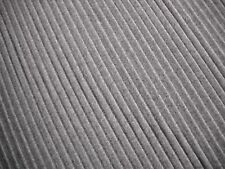 "ONE YARD WEITZNER PLEATED WOOL CHANNELS STONE FABRIC UPHOLSTERY 60"" x 36"" BTY"