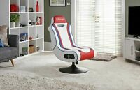 Used X-Rocker Esports Pro Gaming Chair - Red/White-GBL150.