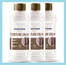 STANHOME: set 3 FURNITURE CREAM CREMA NUTRIENTE MOBILI 3x250 ml - Confezione NEW