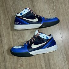 "Nike Zoom Kobe IV 4 ""Philly"" 76'ers Blue White Red Men's Size 10 2009"