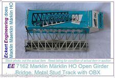 EE 7162 NEW Marklin HO Metal Bridge Open Girder with Original Box OBX