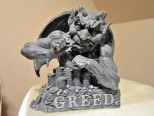 """Greed"" Gargoyle Figurine Statue"