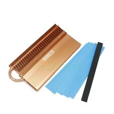 Aluminium w/Copper Heat pipe Heatsink Heat Spreader For DDR RAM Memory Cooling