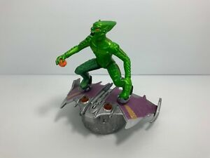 2002 Spider-Man The Movie - Green Goblin Bump & Go Cycle Figurine Figure Toy
