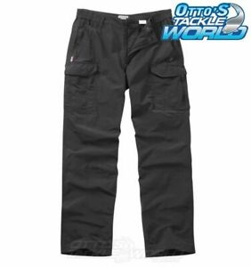NosiLife Cargo Trousers in Black Pepper BRAND NEW at Otto's Tackle World NEW @ O