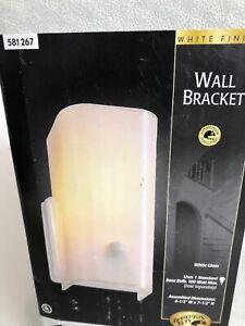 Hampton Bay Wall Bracket Light  581 267 White