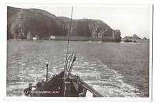 Leaving Le Creux Harbour, Sark PPC, Unposted, By Salmon