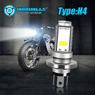 For Motorcycle H4 6500K LED Hi/Lo Beam Front Light Bulb Super Bright Headlight