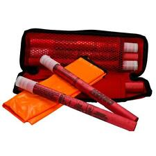 6-Pack 20 Minute Road Flare Kit Safety Flares Traffic Car Highway Road Care Safe