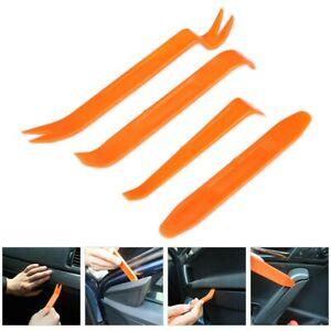 4 x Car Trim Removal Tool Kit Set Panel Door Dash Plastic Pry Interior Kit UK